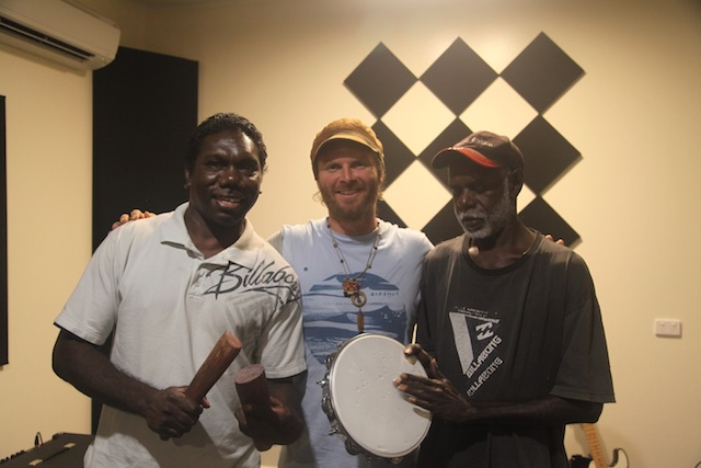 Had a chance to share some jams with Brother Larry and Andrew of the Barra West Wind band of NE Arnhem Land. So blessed to share story and song lines with these Brothers!