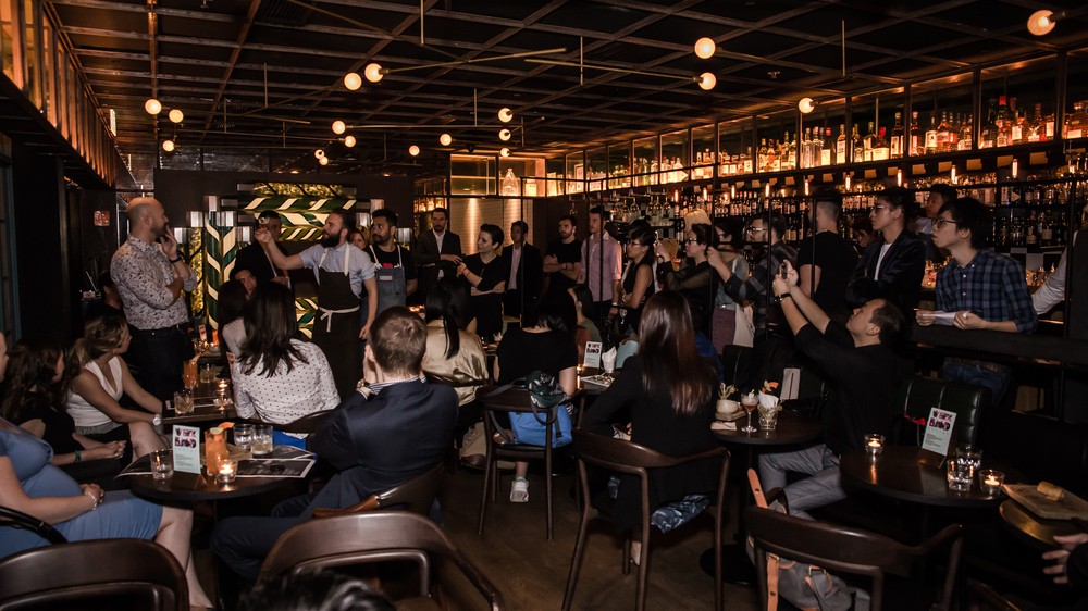 Josh Reynolds 2015 Chivas Global Master at Aberdeen Street Social Hong Kong new whisky cocktail