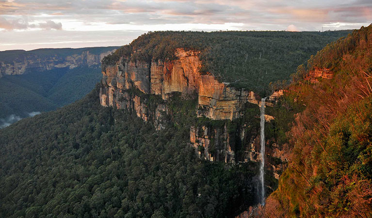 Bridal Veil Falls, Govetts Leap, Blue Mountains