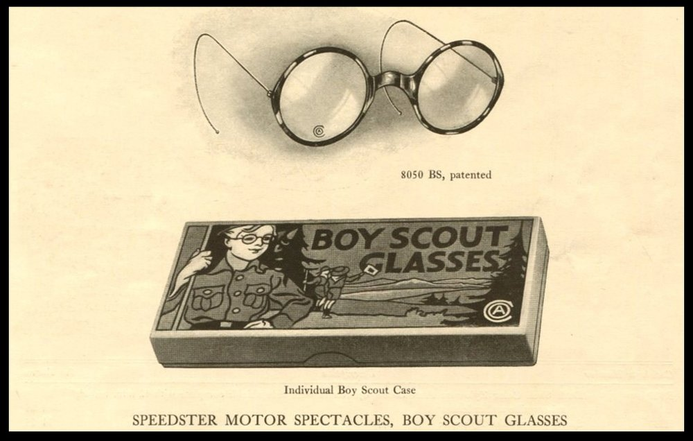 "American Optical's ""Boy Scout"" Glasses from 1916"
