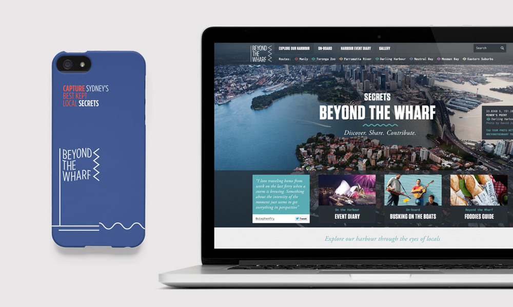 Website - Beyond The Wharf