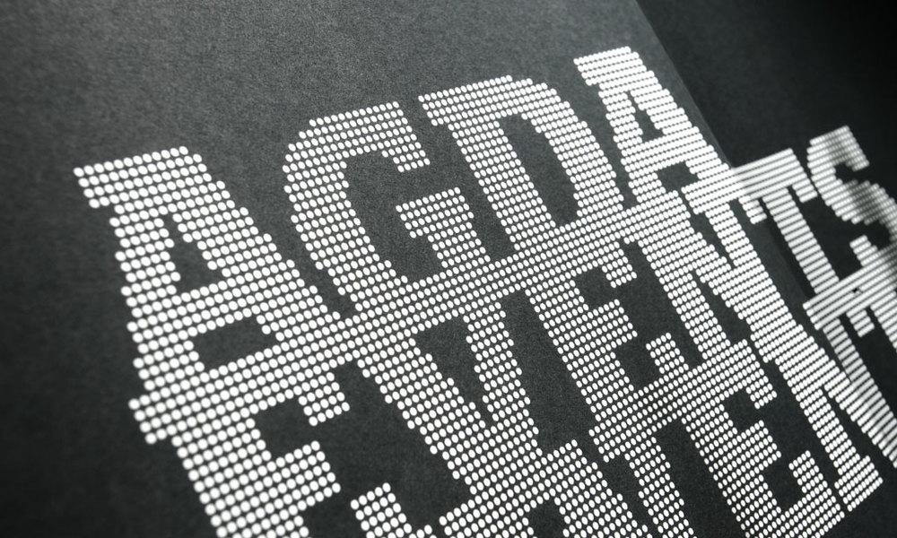 AGDA Calendar Tour Shirt Poster