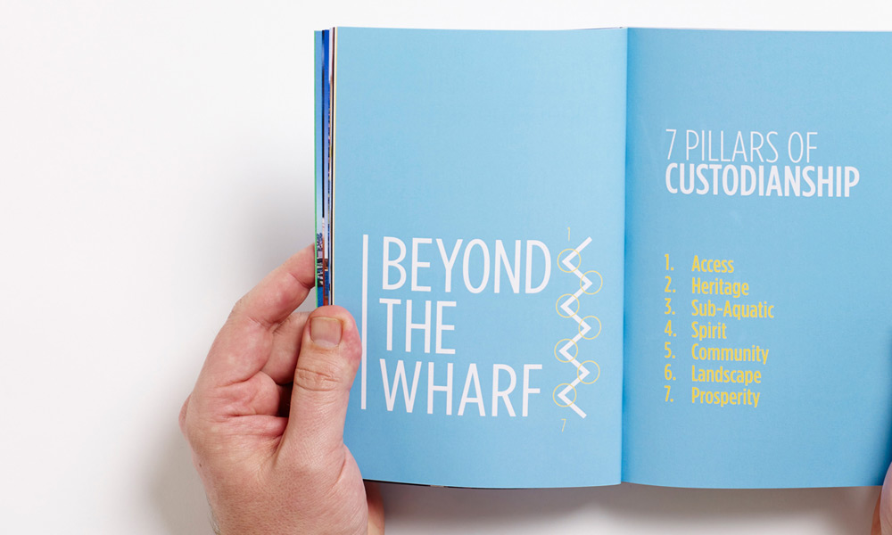 Beyond The Wharf Identity