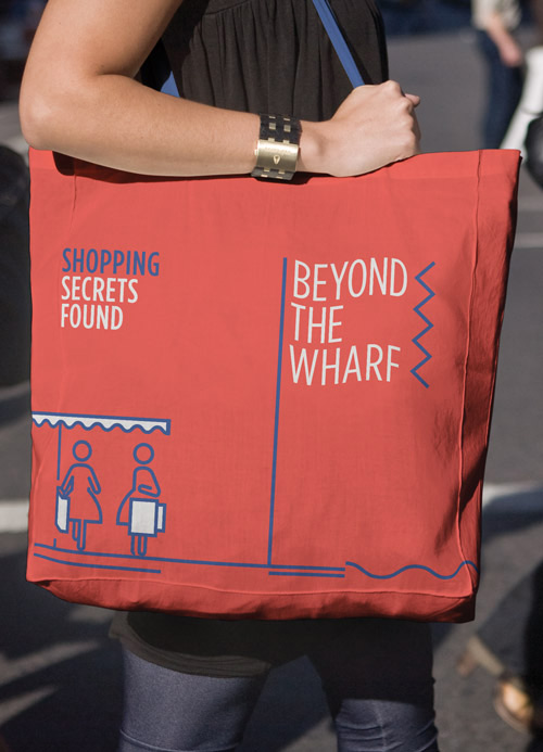 Brand promo - tote bag -  Beyond The Wharf