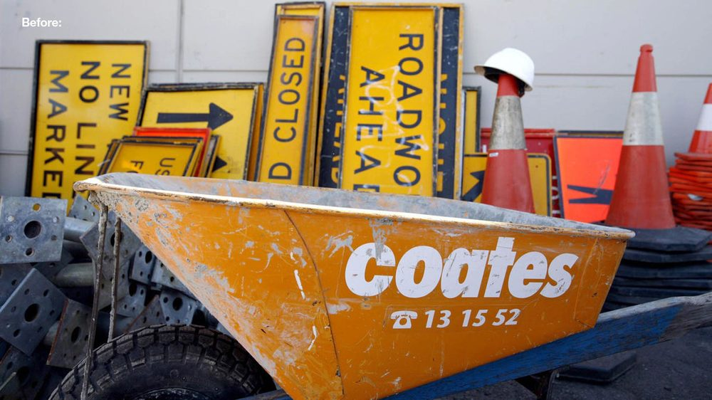 coates hire before rebrand