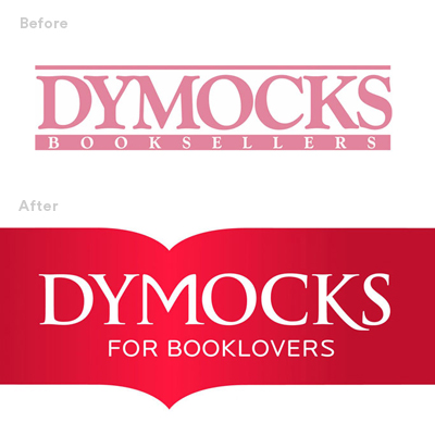 before after Dymocks identity