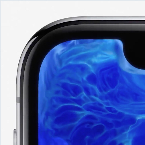 The most stunning way of demonstrating their 'edge-less' screens. The molten colours swirling against the sides is beautiful. The new iPhone X looks stunning.  #iphone #designthinking #productdesign #brand #apple #molten