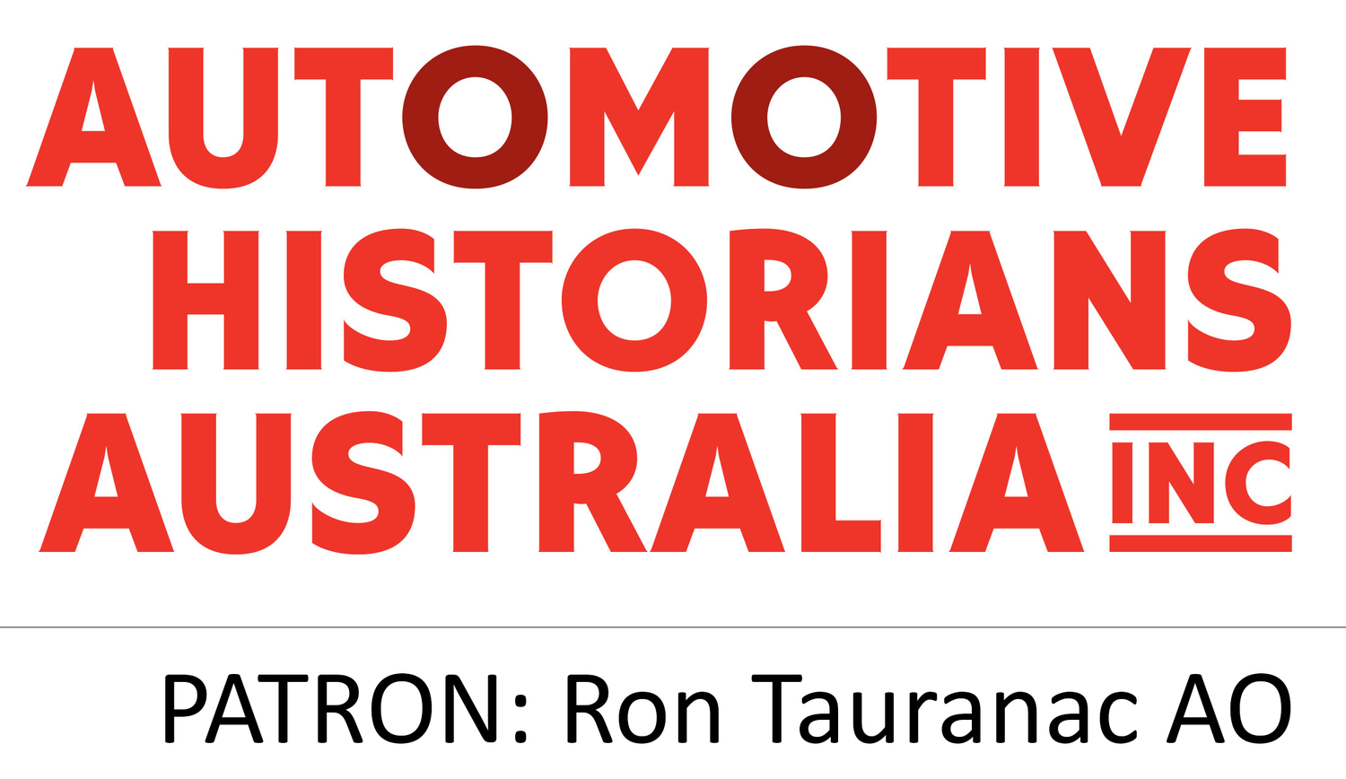 Automotive Historians Australia Inc