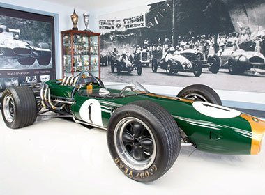 The Repco Brabham BT19 was at the Sandown historic race meeting in November 2016