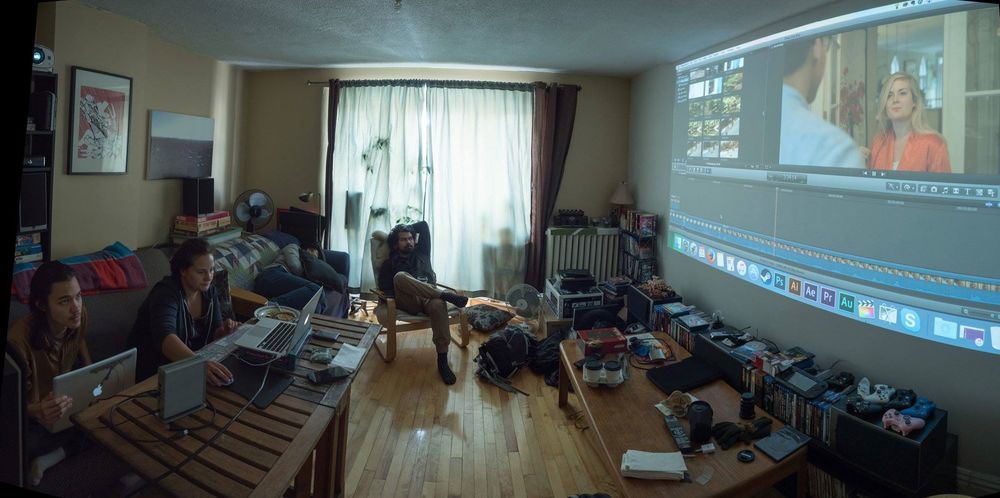 Jordan is the editor extraordinaire in the corner, there :) GoPro pic by Chris Kemp
