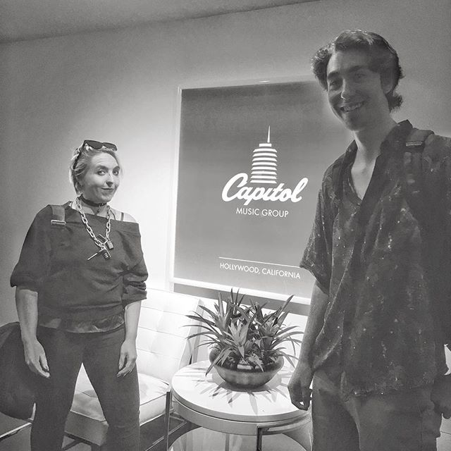 Thanks for letting me pitch my stealth startup @capitolrecords !  Hope to cum back thru!