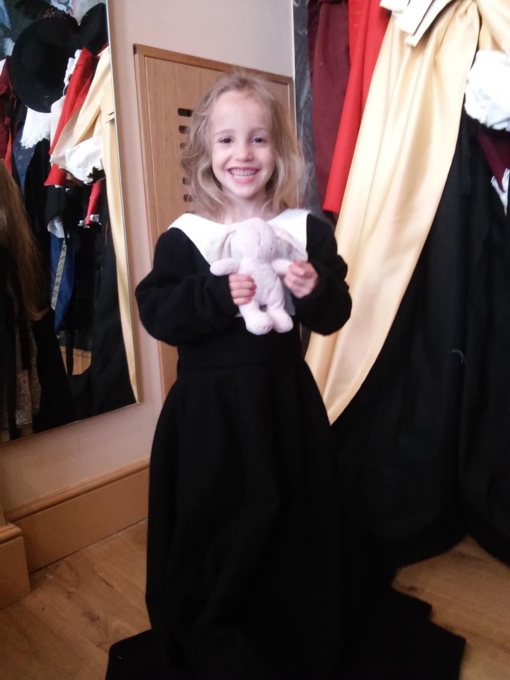 Civil War Puritan Child