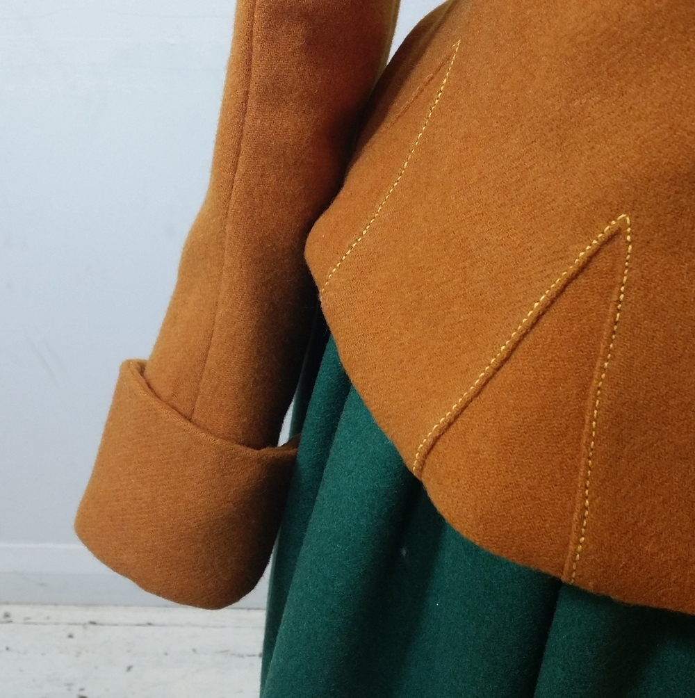 Woollen Waistcoat Detail