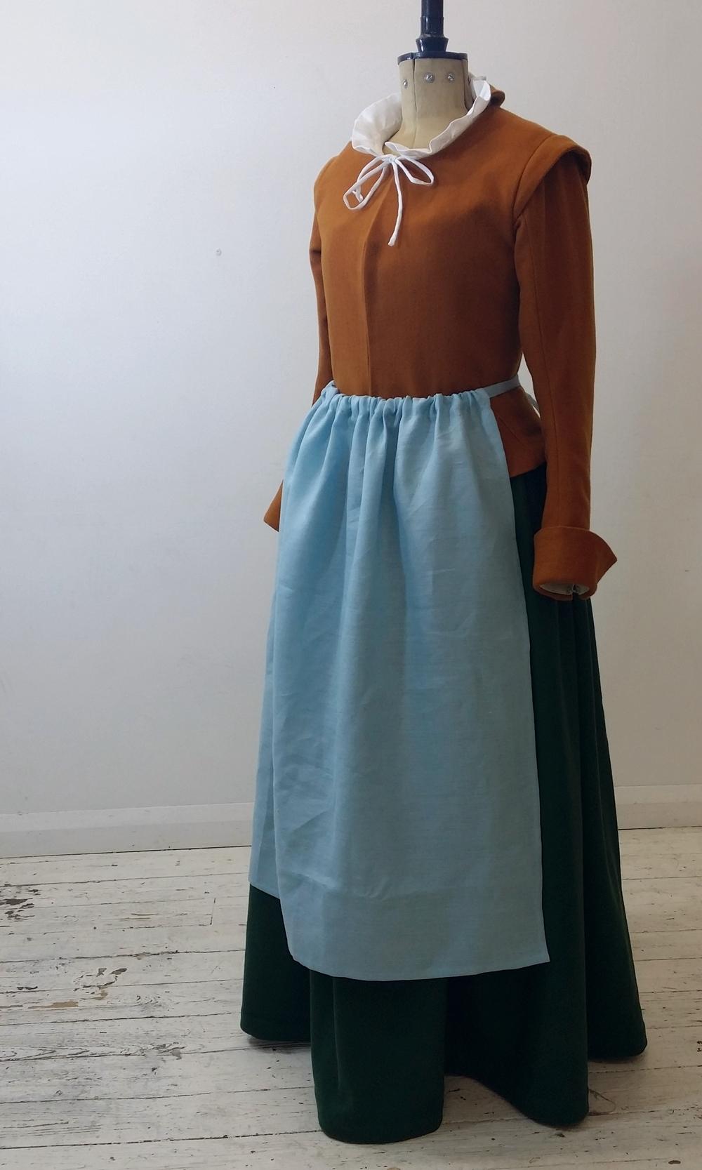 Woollen Waistcoat and Apron