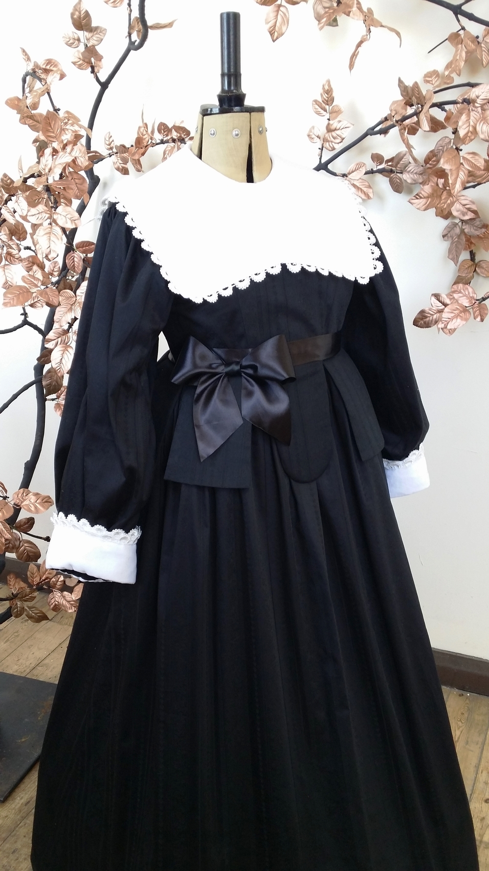 Rich Puritan Lady