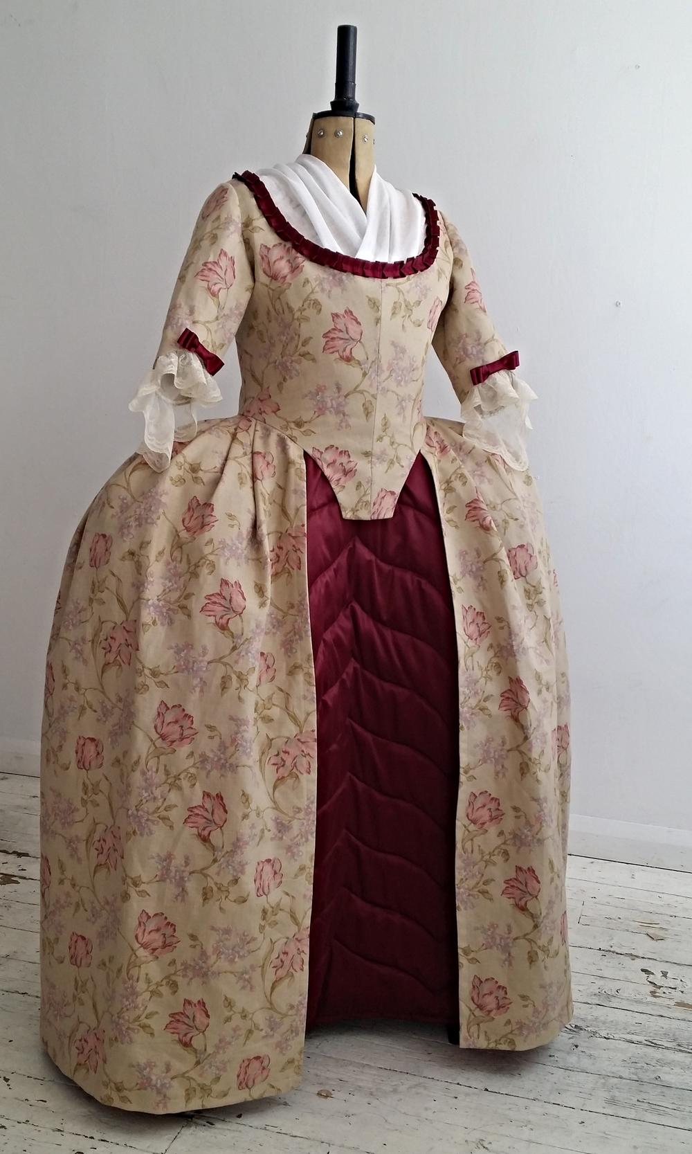18th Century Robe L'Anglaise