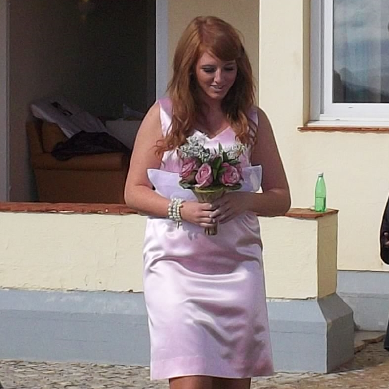 November 2011 - the end of 7 months in the Algarve as maid of honour for my aunt's wedding
