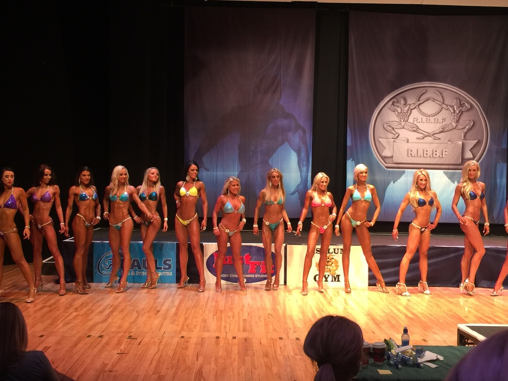 The First Timers in Bikini class - amazing!
