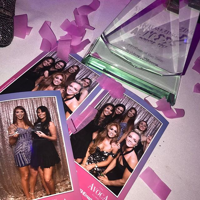 What a night at the #SheMazingHPAwards 💗So happy for @janeinglot winning the Trailblazer award too! Surrounded by amazing women all night 💪🏼👯