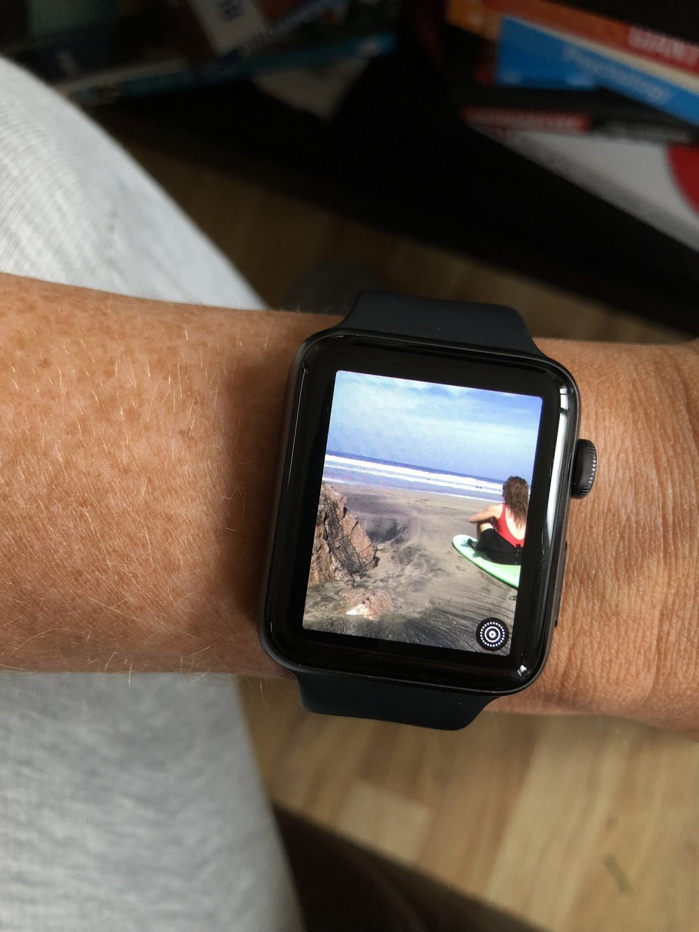 Photos taken on my iPhone and displayed on Apple Watch