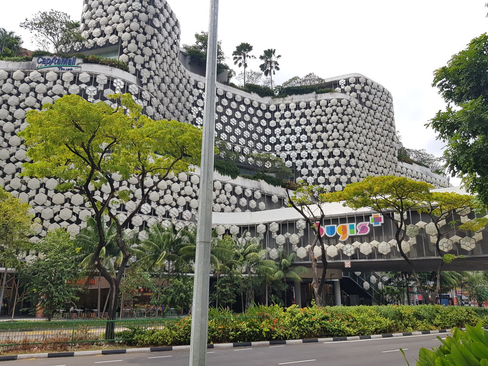 One of many shopping centres in Singapore