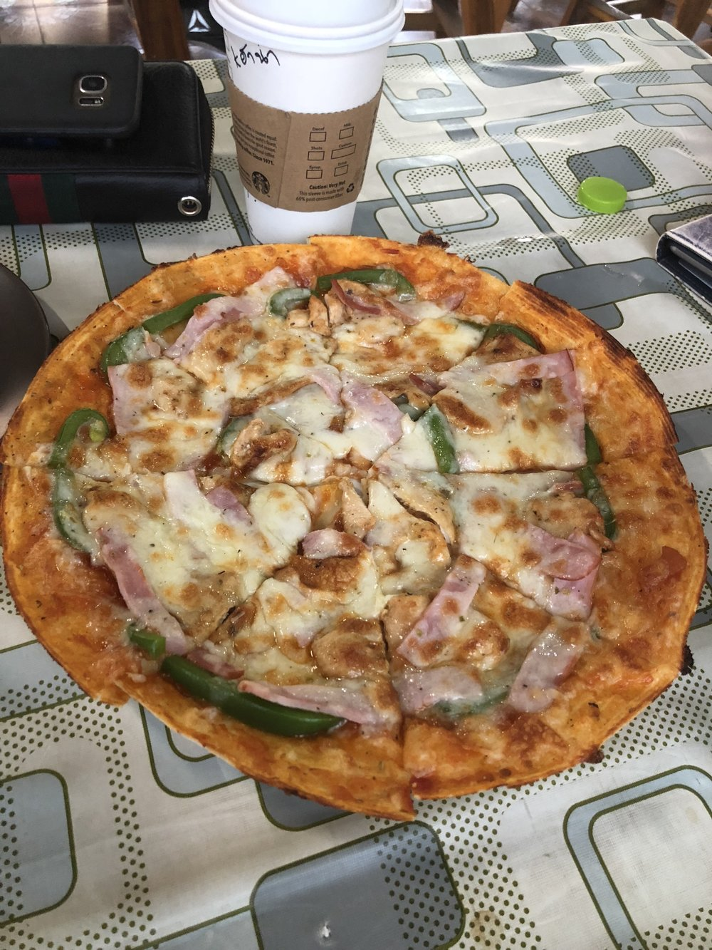 Tortilla Wrap Pizza from Rich House