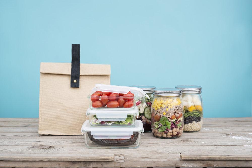 OVERSIKT: Eit godt system for oppbevaring av mat gjer det lettare å vita kva du har til ei kvar tid. Foto: Lagerhaus