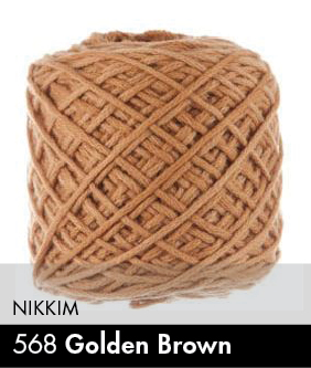 Vinni's Colours Nikkim Golden Brown 568 .JPG