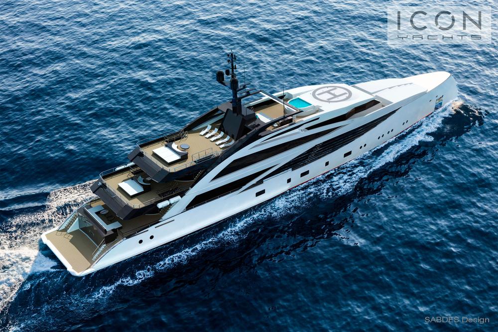 Lovely Thisu0026nbsp;striking 72.5m (238u0027)u0026nbsp;Axebow Motoryacht Was Produced For