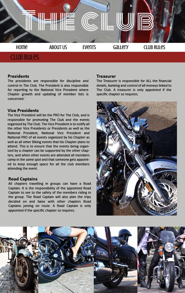 biker website