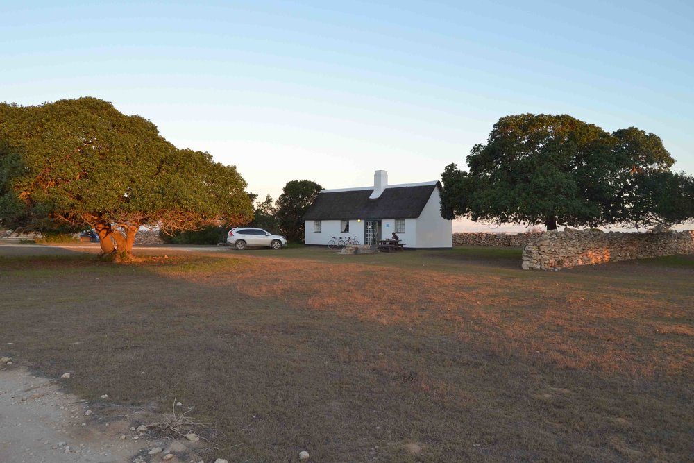 There are several accommodation options - we stayed in Opstal Vlei Cottages which are self-catering.