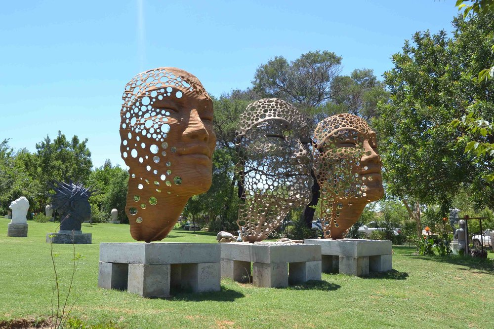 The Sculpture Park allows you to get up close to the artworks