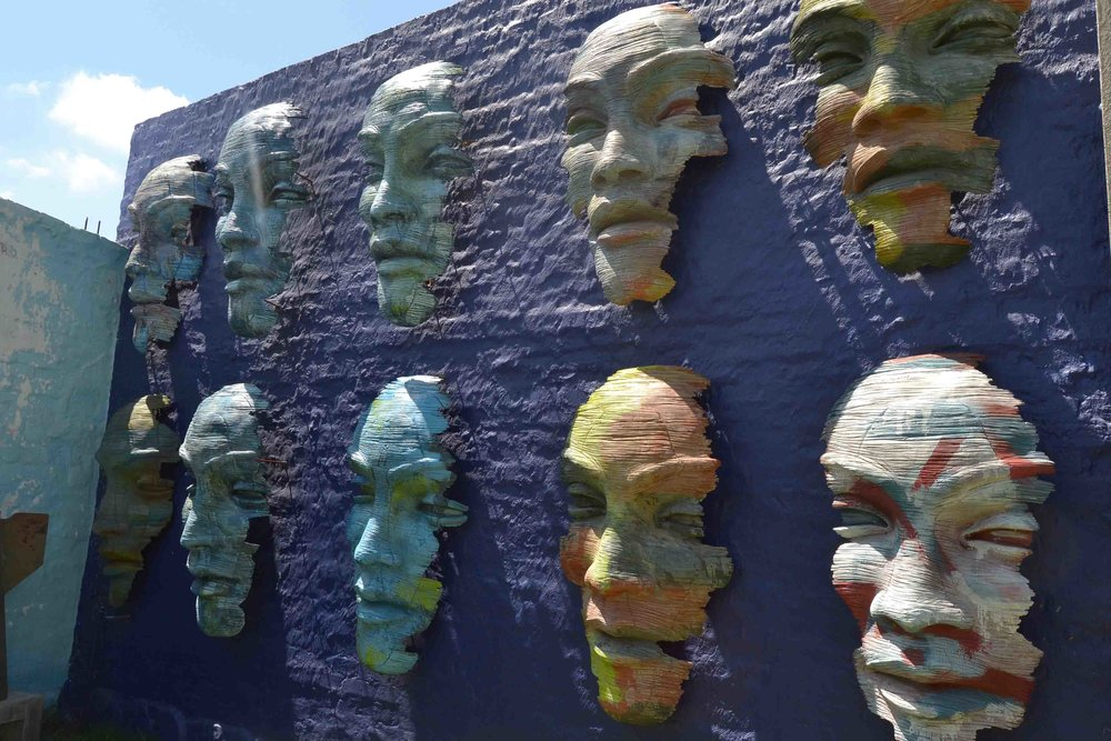 Masks on the Wall