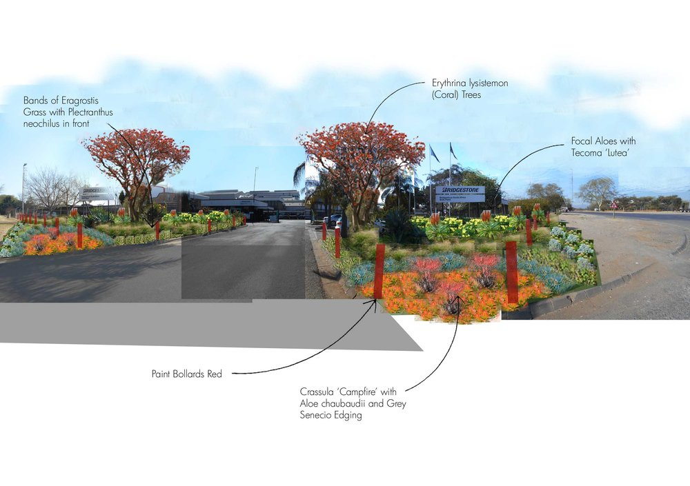 Example of a Proposed Entrance Upgrade