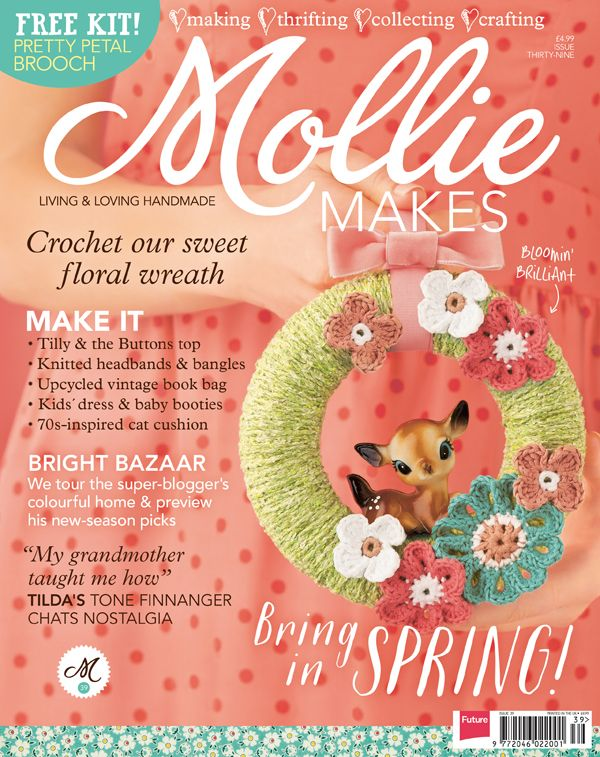 Mollie Makes, Issue 39 - April 2014 | Emma Lamb