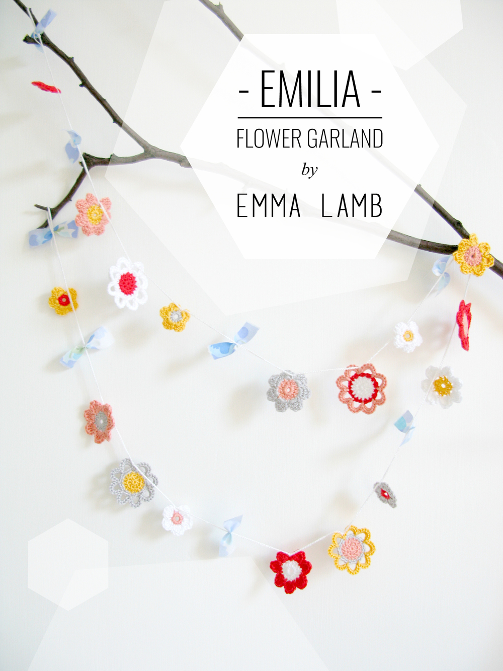 Emilia Flower Garland by Emma Lamb