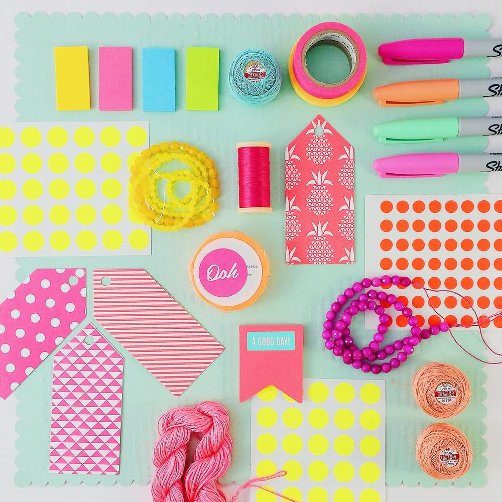 Summer colours: neon | Emma Lamb