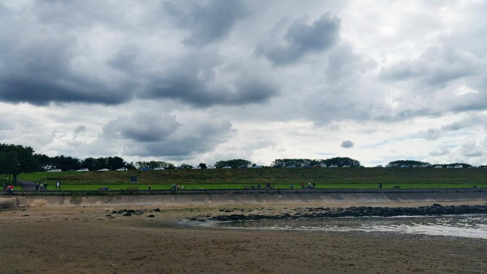 From Where I Stand - Cramond Beach | Emma Lamb