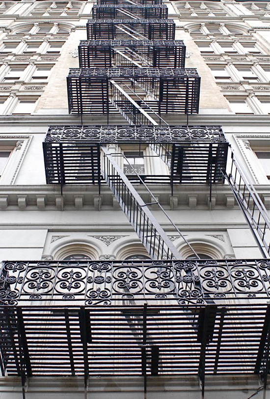 Fire Escape Stairs, Canal Street, New York City - NYC♥NYC | Emma Lamb