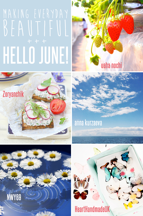 making everyday beautiful : hello June! | Emma Lamb