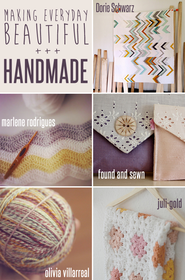 making everyday beautiful : handmade | Emma Lamb