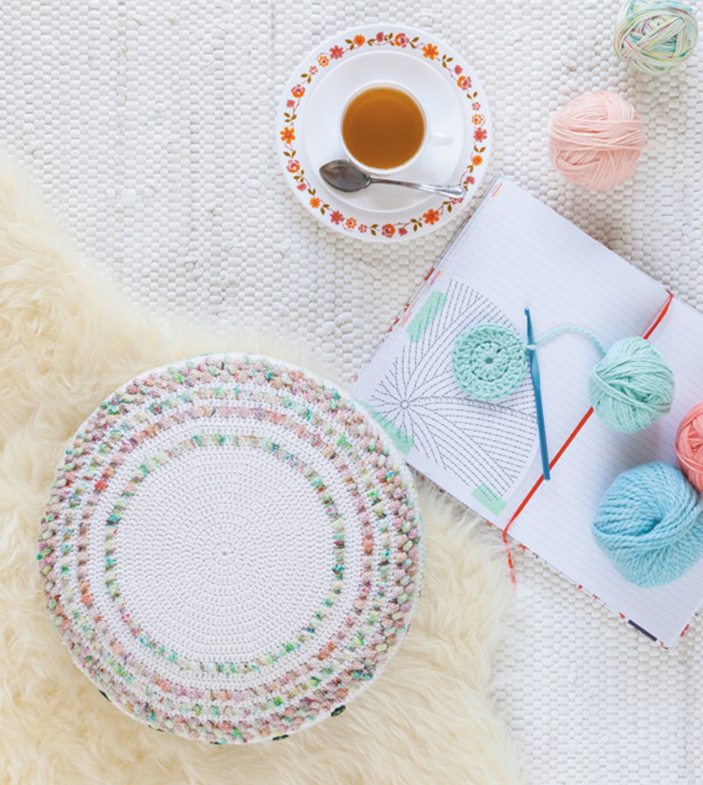 Candy Corn Cushion from Crochet Home by Emma Lamb.jpg