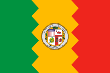 Flag of Los Angeles.