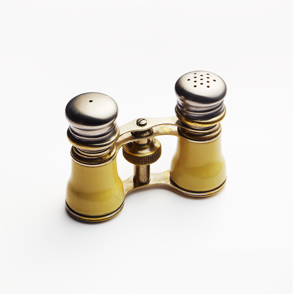 Salt and Pepper Opera Glasses