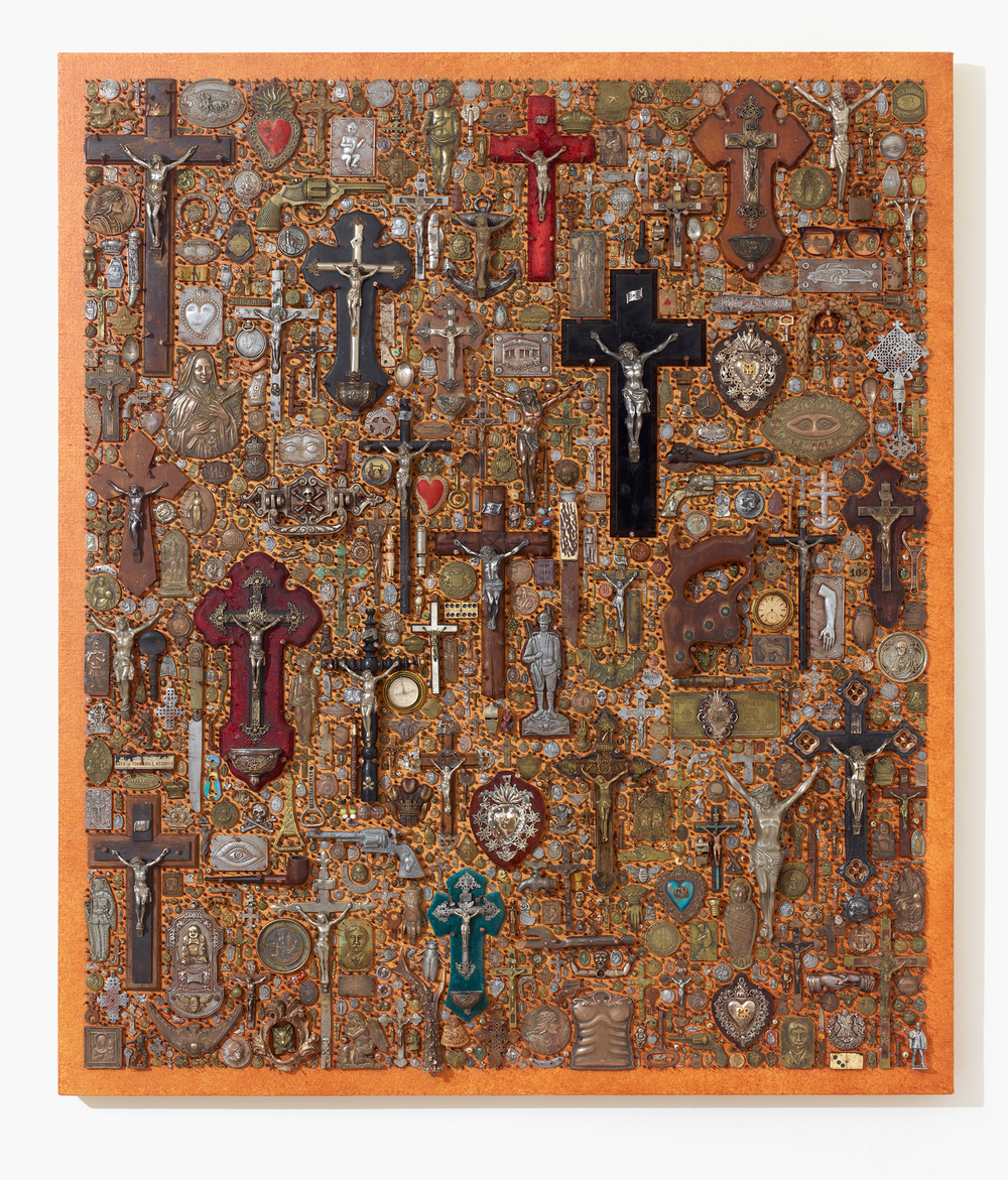 Artifact Board with Crucifix