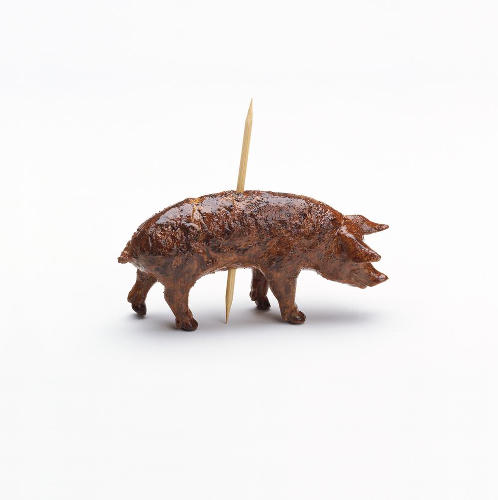 Pig on a stick