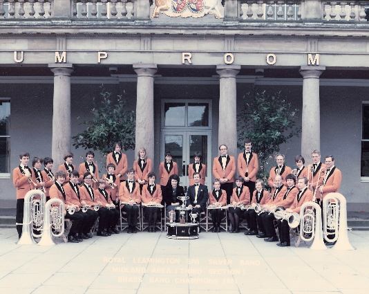 Royal Leamington Spa Silver Band 1981