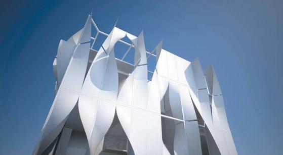 '퓨처 하우스 2020'에 전시된 건축가 하태석의 'IM하우스'