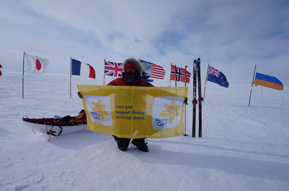 Due South: Antarctica  - First Scot South Pole SoloOn January 13th 2016, after skiing completely solo, unassisted and unsupported for 39 days and 8 hours, Luke reached the bottom of the world, the South Pole. He had just become the first Scot, the Youngest Brit and the second youngest in history to achieve this feat. When Luke arrived at 90° South, he had skied over 730 miles (1175km), for 40 consecutive days, whilst climbing from sea level to a height of 9,000ft (c.2800m). He had just successfully completed an expedition and a challenge that less than 20 people in history have achieved.