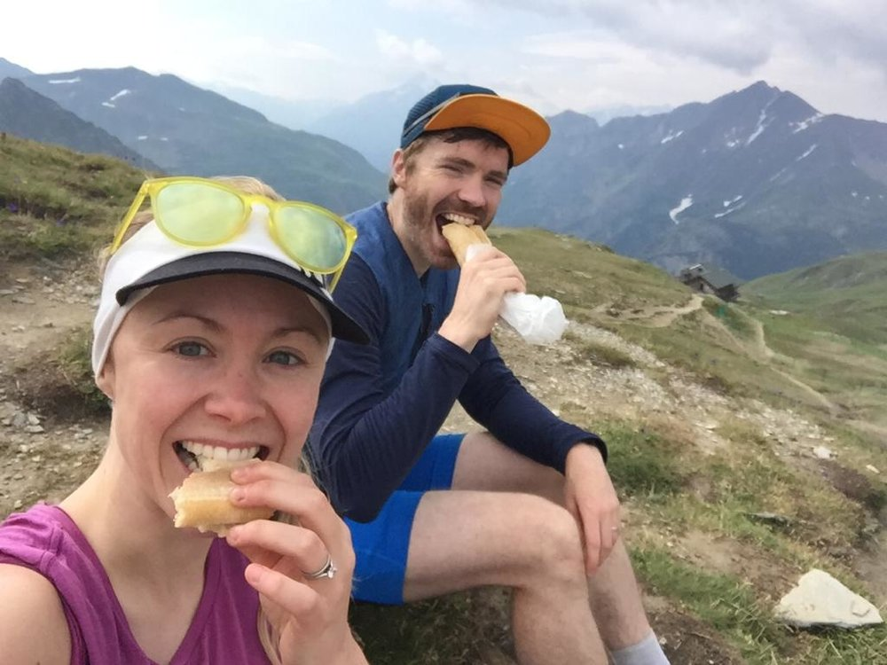 Eating local on the Ultra-Trail du Mont-Blanc (UTMB) running route